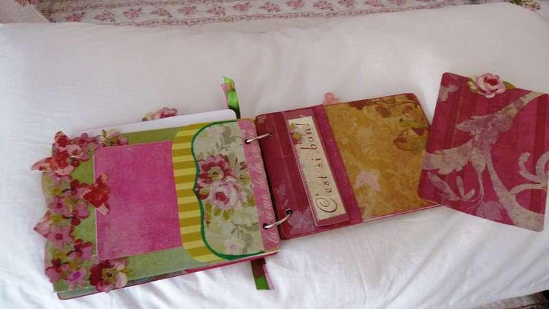 Madeline Collection Mini Chipboard Album