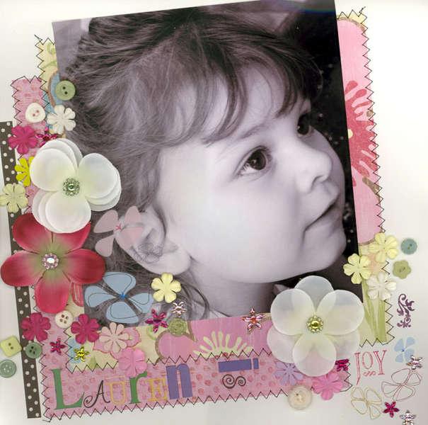 Lauren is Joy! Primas, Flowers and Bling!