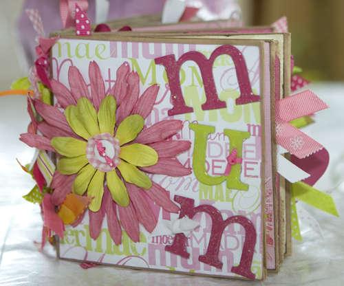 """""""Mum"""" Paper Bag Book"""