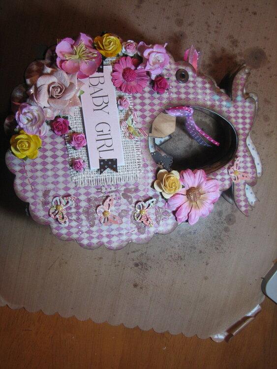 Baby Girl Bib Album