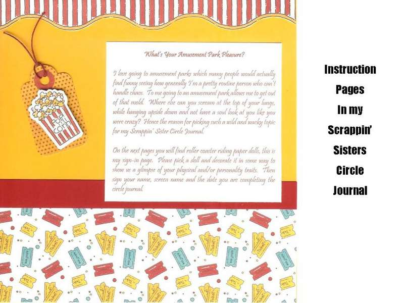 Circle Journal Instruction Pages