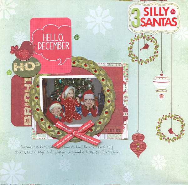 3 Silly Santas December 1, 2012 Photo of the Day