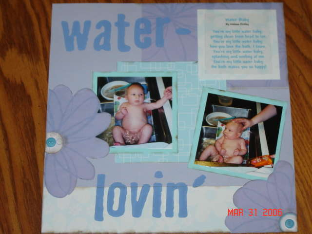 Water Baby page 1 closed