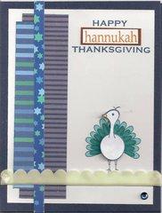 Happy Hannukah Thanksgiving