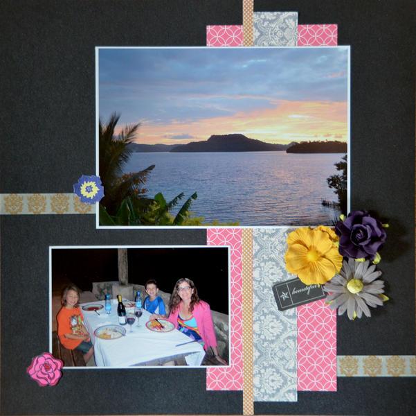 Sunset in Tonga