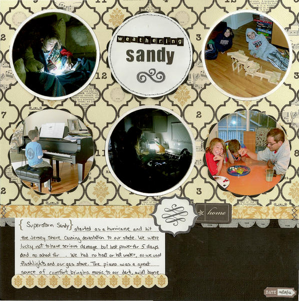 Weathering Sandy