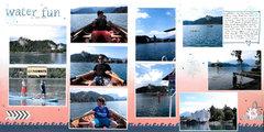 Water Fun at Lake Bled