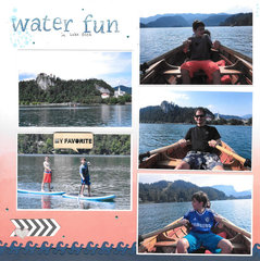 Water Fun at Lake Bled