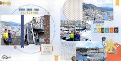 Just Ride the Escalator beautiful Hilly Monaco