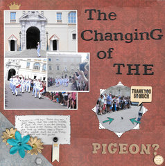 The Changing of the Pigeon