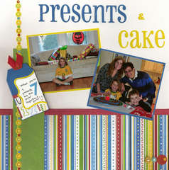 Presents and cake
