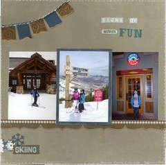 Signs of Winter Fun