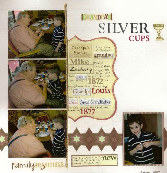 Grandpa's Silver Cups