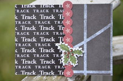 Christmas card for track coach
