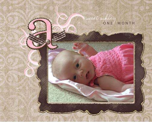 Ashley - 1 month