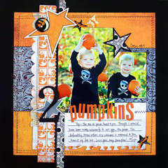 *2 Pumpkins* BG Newsletter Oct. '08