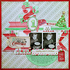 *Merry Christmas Countdown* NEW BasicGrey 25th & Pine