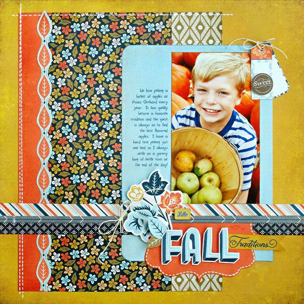 "*Fall Tradition"" NEW BasicGrey PERSIMMON"