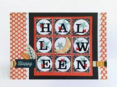 *Happy Halloween* Card BasicGrey Persimmon