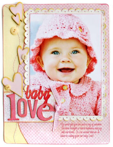*Baby Love* BHG Baby Cover