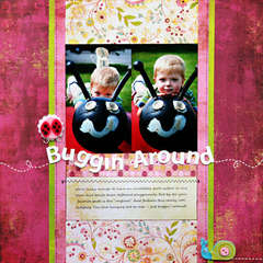 *Buggin' Around* Layouts Designed for Scrapfest