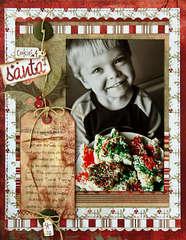 *cookies for Santa* - Scrapbook.com Wassail Kit!!