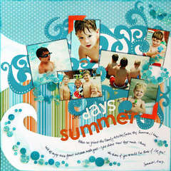 *Days of Summer* BHG Aug/Sept '08