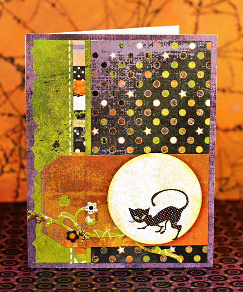 *Cat in the Moon* Card