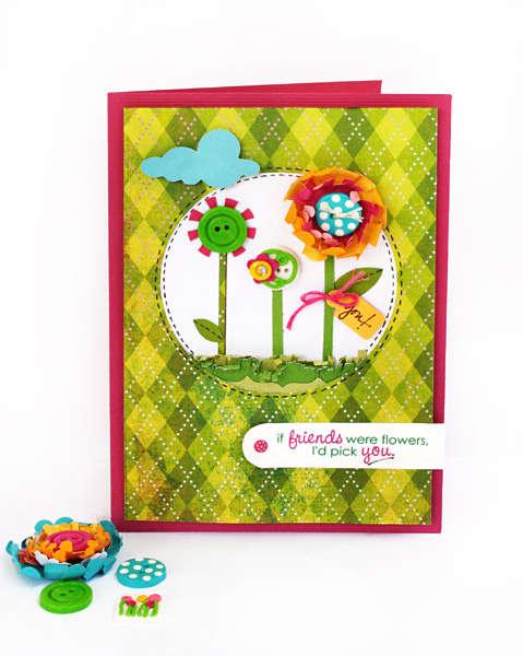 *Friends Card* - Fiskars & Tessa Ann