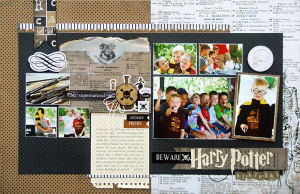 *Harry Potter Birthday*