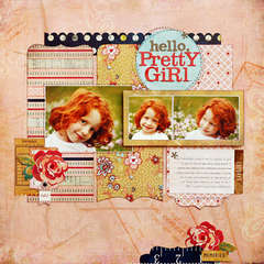 *Hello, Pretty Girl* NEW BasicGrey LUCILLE