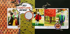 *Holy Costume, Batman* CK Oct. '09