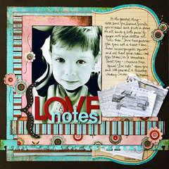 *Love Notes* Bazzill/CE Idea Book '08