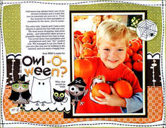 *Owl-O-Ween?* ST Holiday Book '09