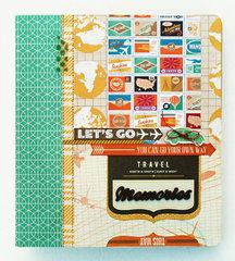 *Travel Memories* BasicGrey CARTE POSTALE Mini Album