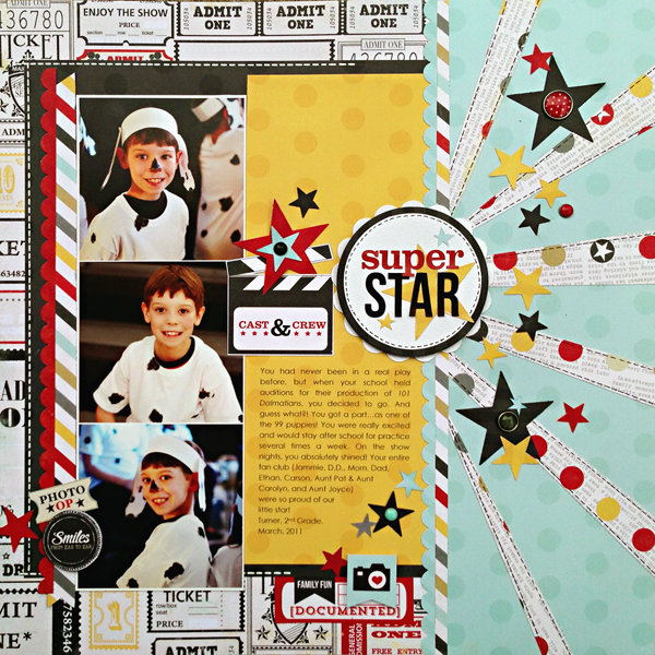 *Super Star* NEW SIMPLE STORIES SAY CHEESE