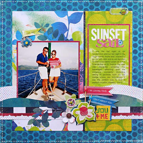 *Sunset Sail* SB&B Summer '11