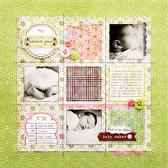 *Sweet Pea* NEW BasicGrey Sweet Threads + Theme Stickers
