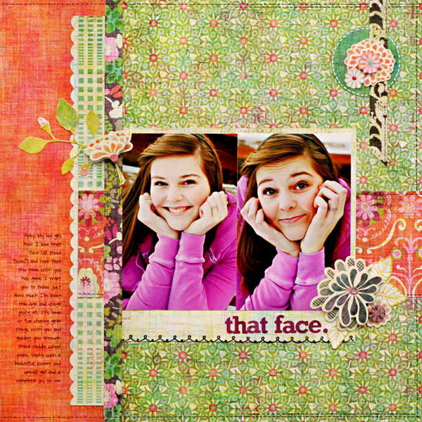 *That Face* NEW BasicGrey SWEET THREADS