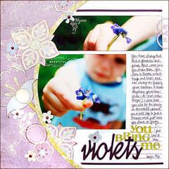 *Violets*
