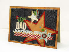 *Super Star Dad* Happy World Card Making Day!