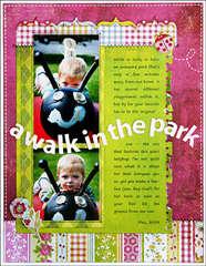 *Walk in the Park* NEW BasicGrey LEMONADE
