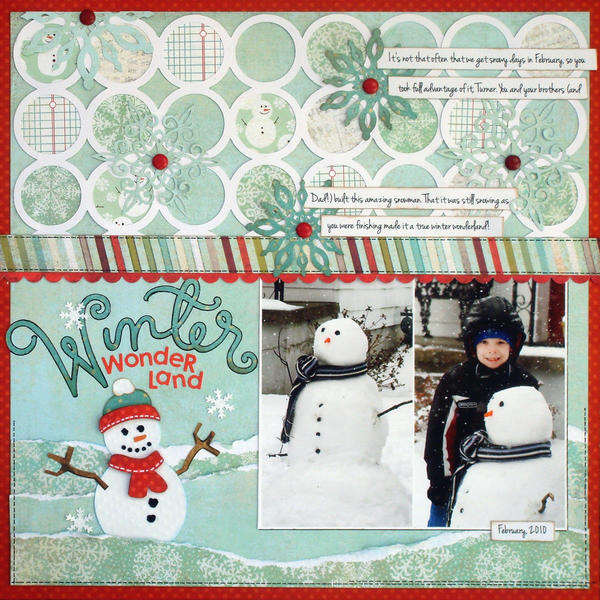 *Winter Wonderland* SCT Winter '12