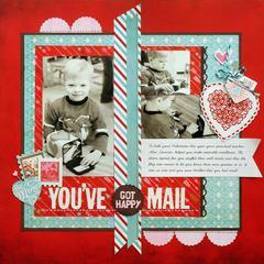 *You've got HAPPY Mail* NEW BasicGrey TRUE LOVE