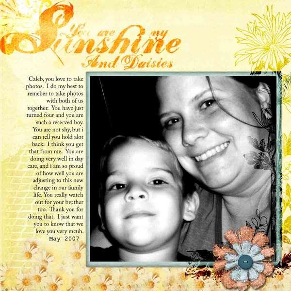 My sunshine & Daisies