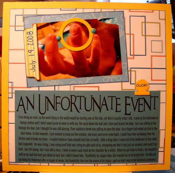 An Unfortunate Event