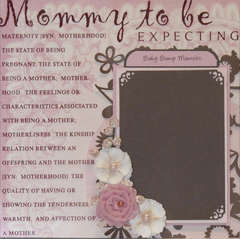 MOMMY TO BE / BABY BUMP MEMOIRS