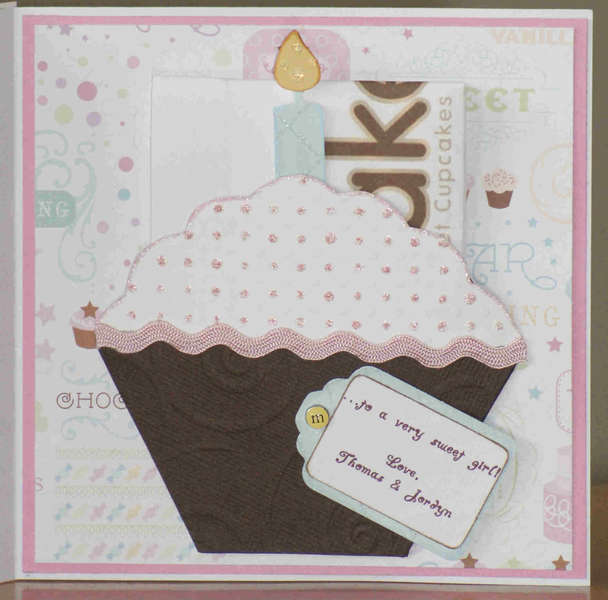 Happy Birthday *Cupcake Marci* Card - Inside