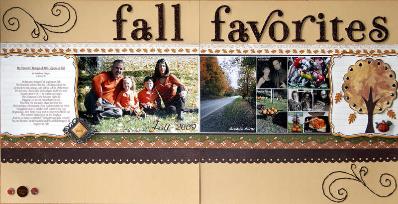 """FALL FAVORITES"" ~ Full Layout"