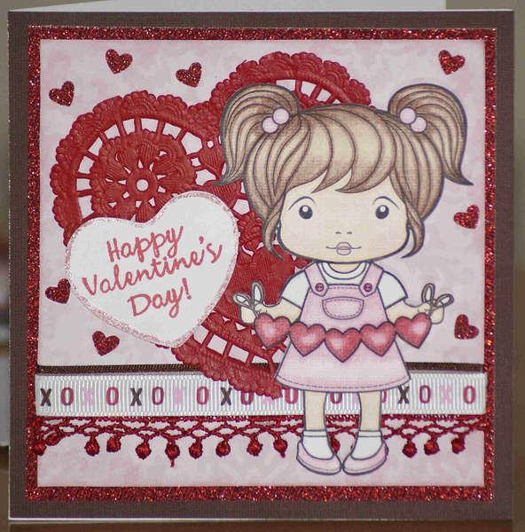 Sweetheart Marci Happy Valentine's Day Card
